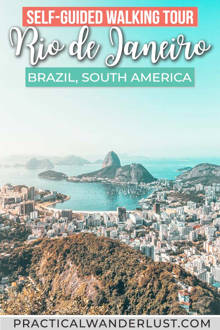 The ultimate walking tour of Rio de Janeiro, Brazil! The Rio walking tour takes you through  Centro and Lapa, it's totally FREE, and yes, theres a map!
