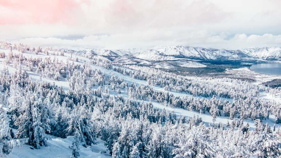 Heavenly Ski Resort in Lake Tahoe, California