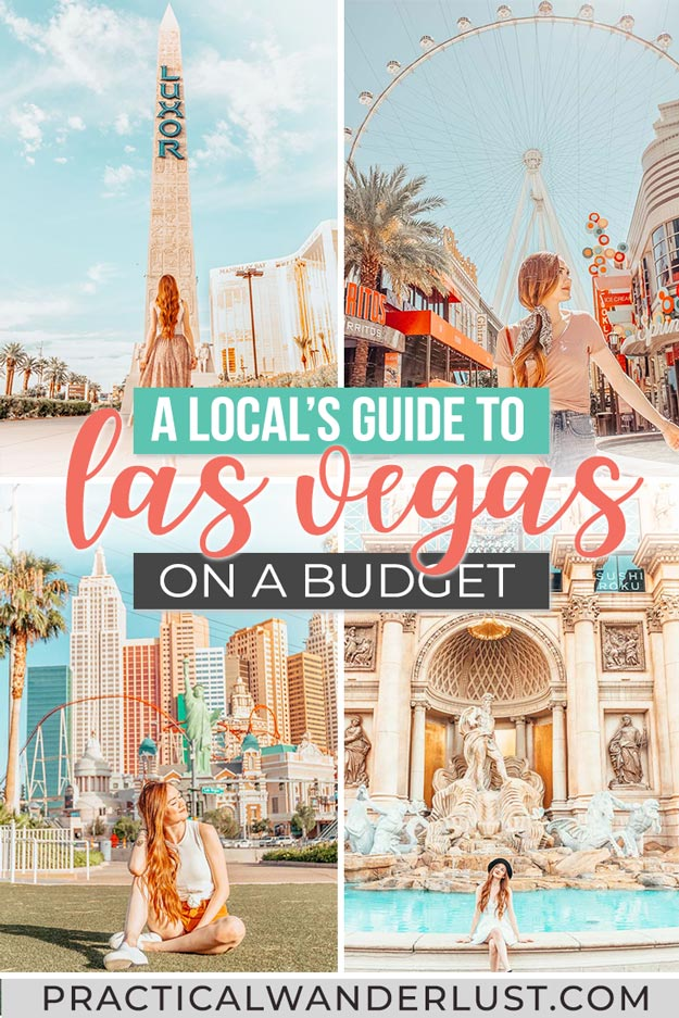 Las Vegas things to do on a budget! A local's travel guide to Las Vegas on a budget. Ways to save money in Las Vegas, FREE things to do in Las Vegas, cheap hotels in Las Vegas, and more! Las Vegas, Nevada, USA travel.