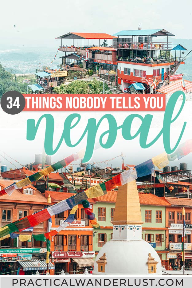This Nepal travel guide answers questions like: What's up with squatty potties? Is Nepal Hindu or Buddhist? What does