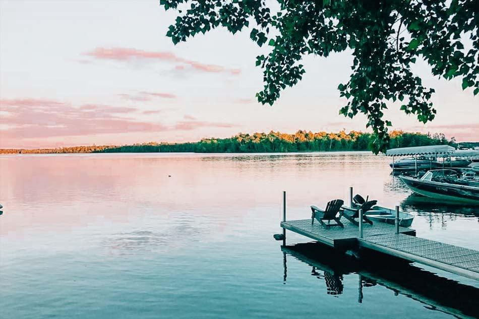Bay Lake in Minnesota
