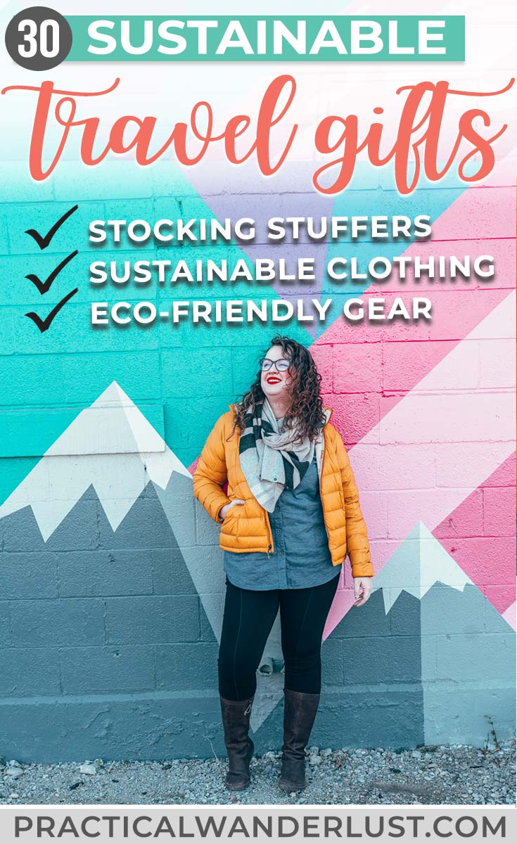 We've pulled together a list of eco-friendly gifts for travelers, from sustainable clothing to travel gear to stocking stuffers. Each gift idea is ethically and responsibly made (and sold), so both you and your gift recipient can have the warm fuzzies ...both literally and figuratively!