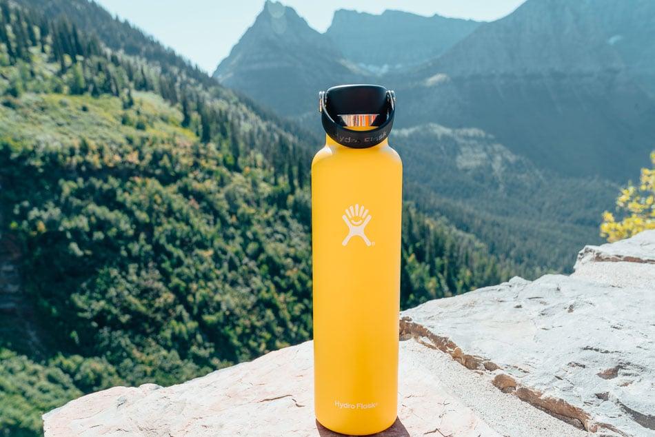 Hydroflask Water Bottle in Glacier National Park