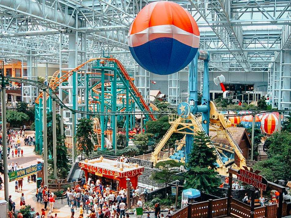 Mall of America is one of the best places to visit in Minnesota