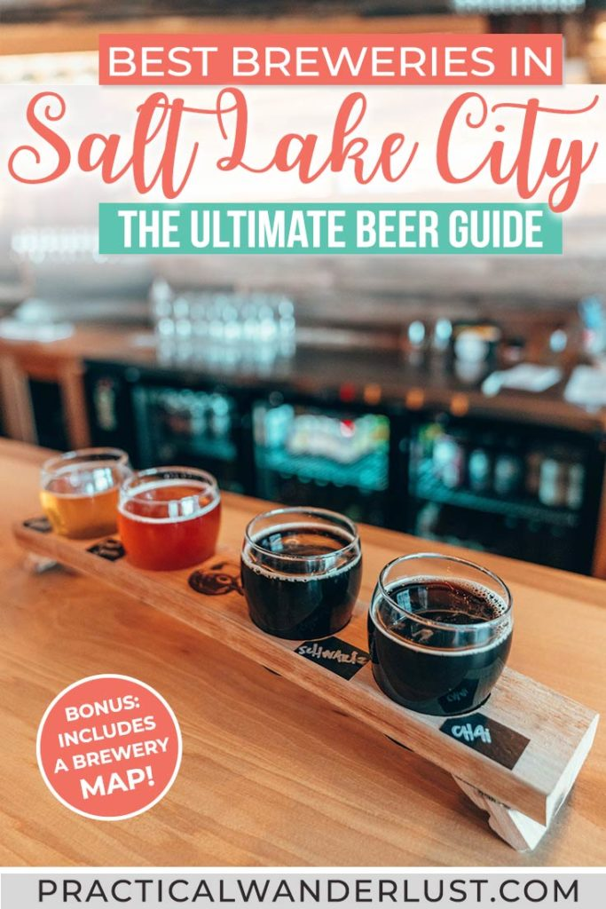 Salt Lake City, Utah has amazing craft beer - surprise! Here's the ultimate guide to the best Salt Lake City breweries and brewpubs.