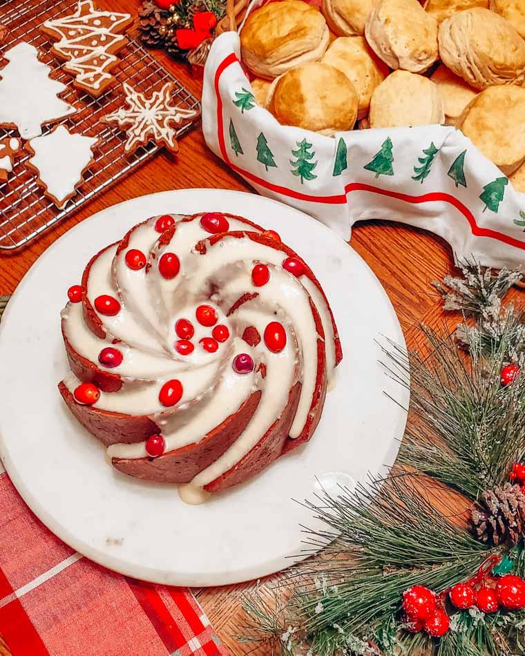 Christmas Bundt Cake!