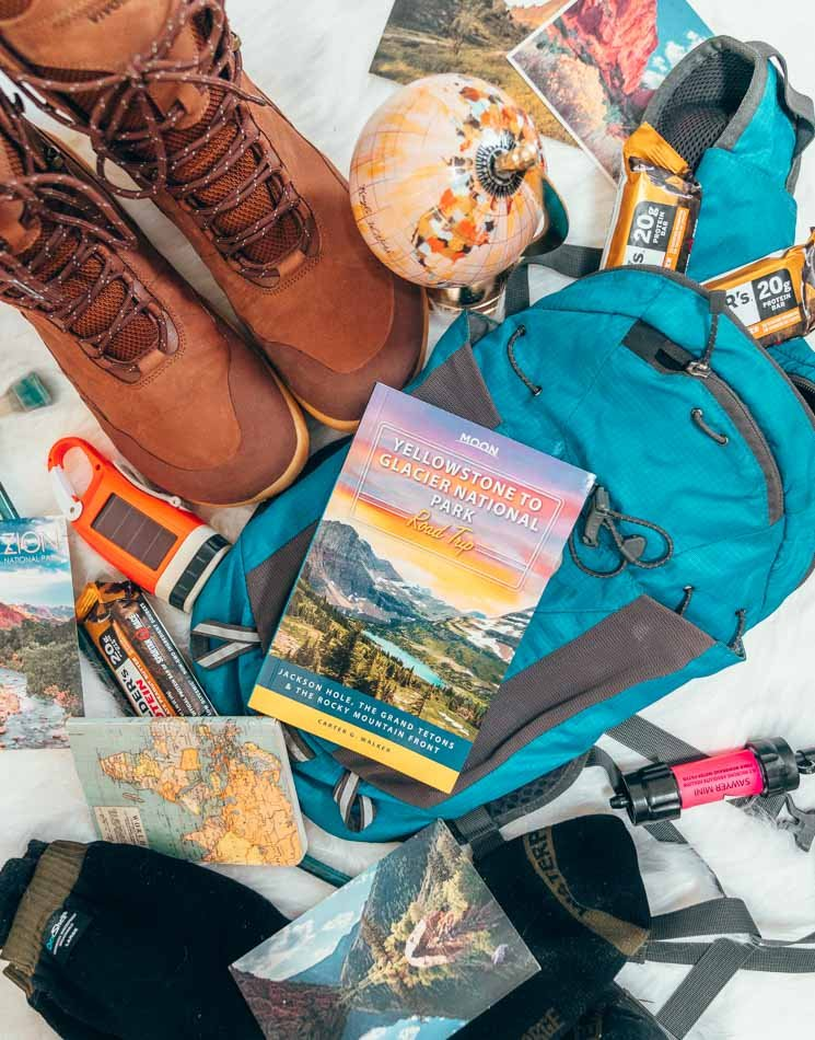 Moon Guides travel guide from Yellowstone to Glacier National Park Road Trip.