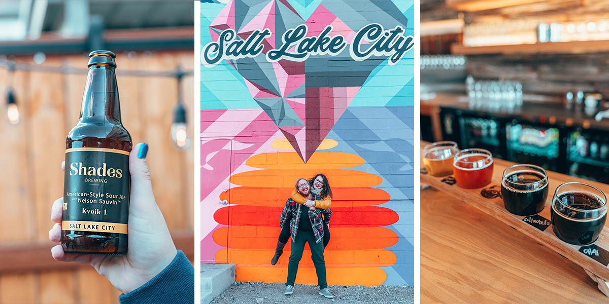 Salt Lake City, Utah has amazing craft beer - surprise! Here's the ultimate guide to the best Salt Lake City breweries and brewpubs, featuring the best 25 breweries in Salt Lake City.