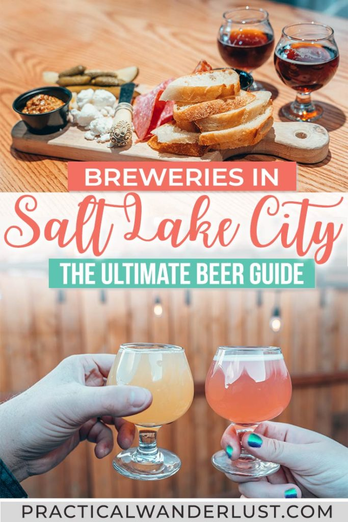 Salt Lake City, Utah has amazing craft beer - surprise! Here's the ultimate guide to the best breweries in Salt Lake City for your next trip to Utah!