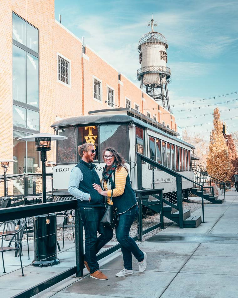 Trolley Square in Salt Lake City, Utah