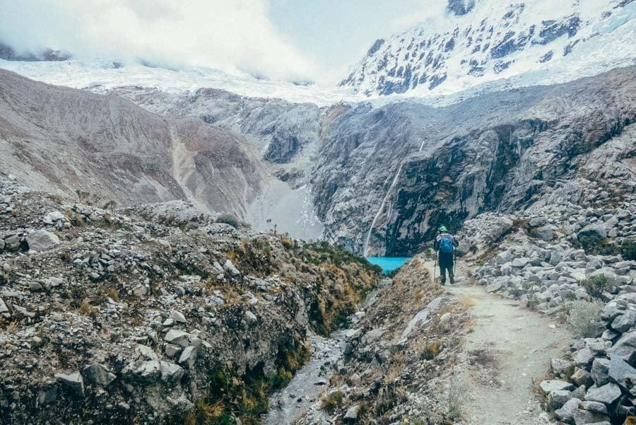 Trekking to Laguna 69 in Peru