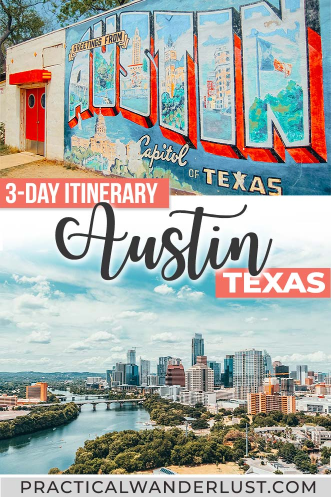 Austin, Texas things to do: the perfect 3 day itinerary for Austin, with plenty of tacos, BBQ, live music, and street art!