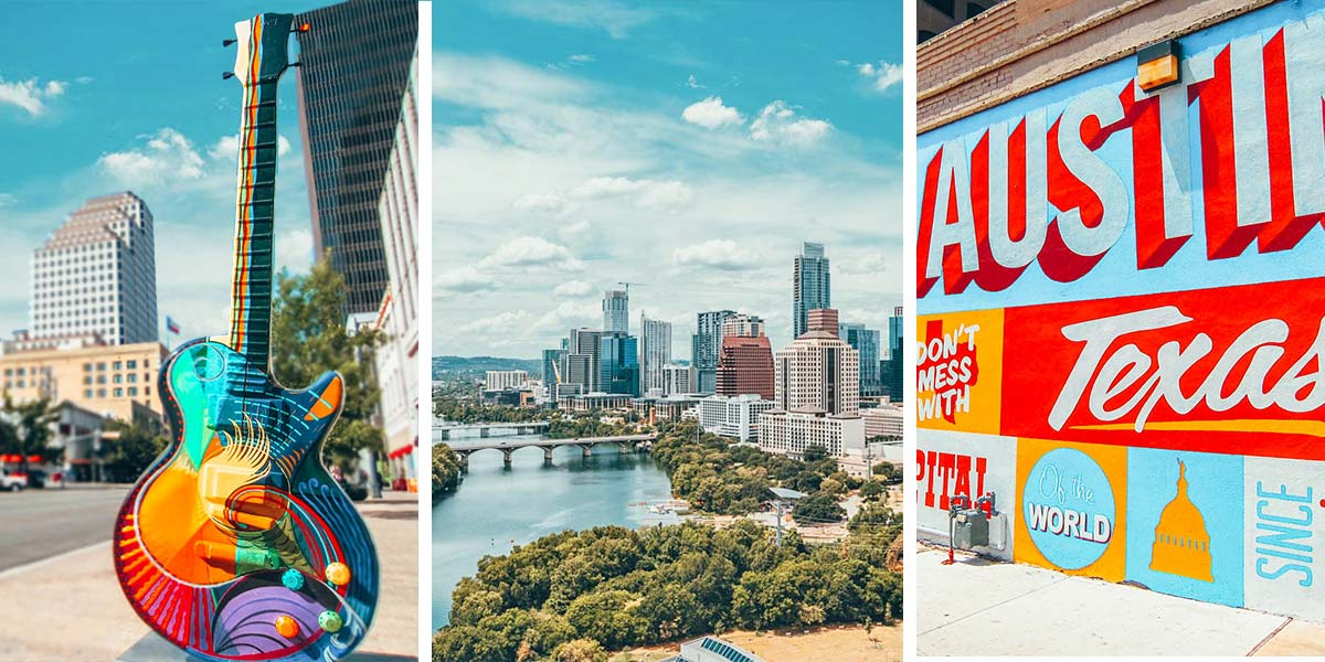 Austin, Texas things to do: the perfect 3 day itinerary for a weekend in Austin, with plenty of tacos, BBQ, live music, and street art!