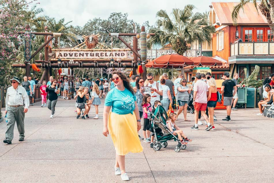 Adventureland in Magic Kingdom, Walt Disney World Resort, Orlando, Florida.