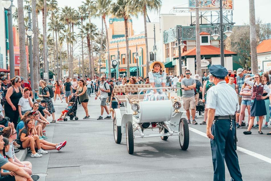 Betty Shambles, a citizen of Hollywood Studios in Orlando, Florida at Walt Disney World Resort.