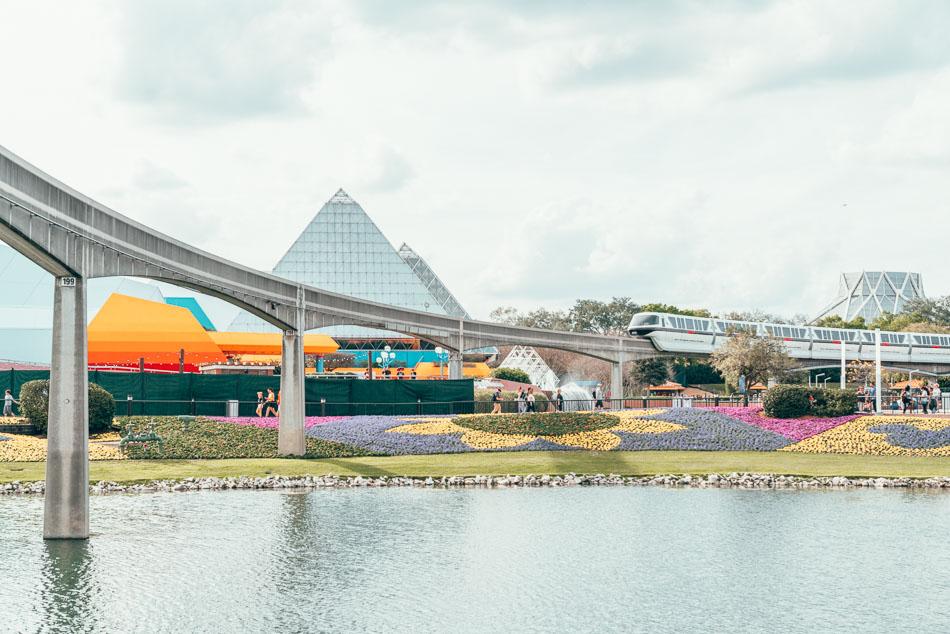 Epcot Monorail at Walt Disney World Resort Orlando Florida