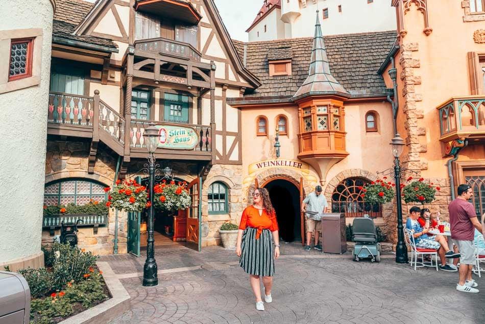 Germany Pavilion in Epcot at Walt Disney World Resort Orlando Florida