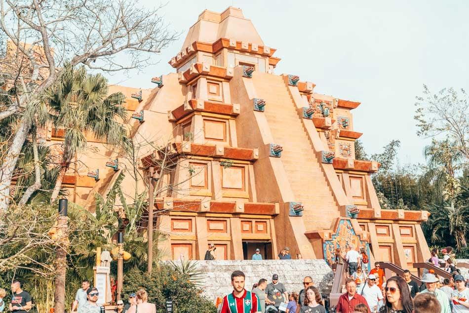 Mexico Pavilion Epcot Walt Disney World Resort Orlando Florida