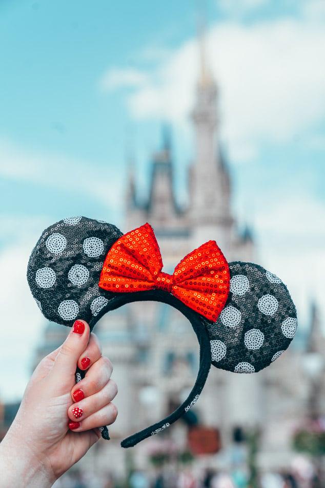 Minnie Ears at Walt Disney World Resort Orlando Florida