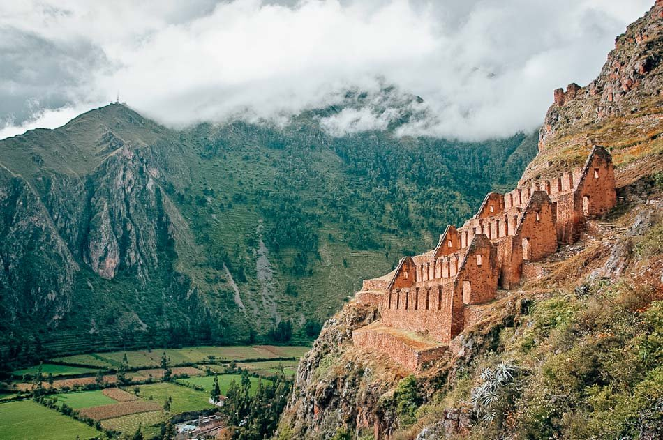 Visiting the Ollantaytambo Ruins, an ancient Inca temple and fortress, is one of the best things to do in Ollantaytambo.
