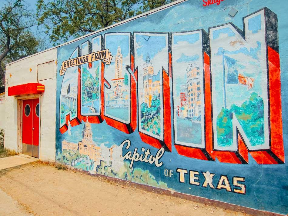 Street art in Austin, Texas.