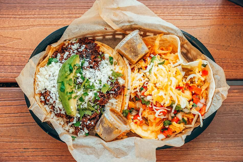 Tacos in Austin, Texas.