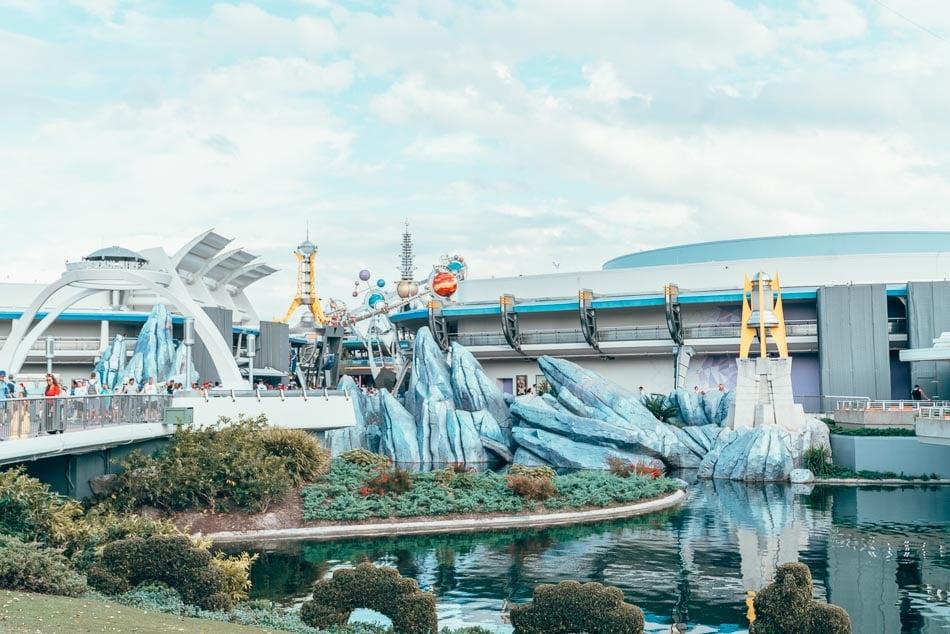 Tomorrowland in Walt Disney World, Orlando, Florida.