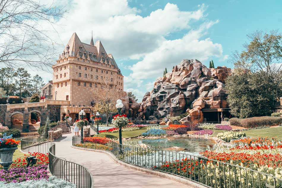 Canada Pavilion in Epcot, Walt Disney World