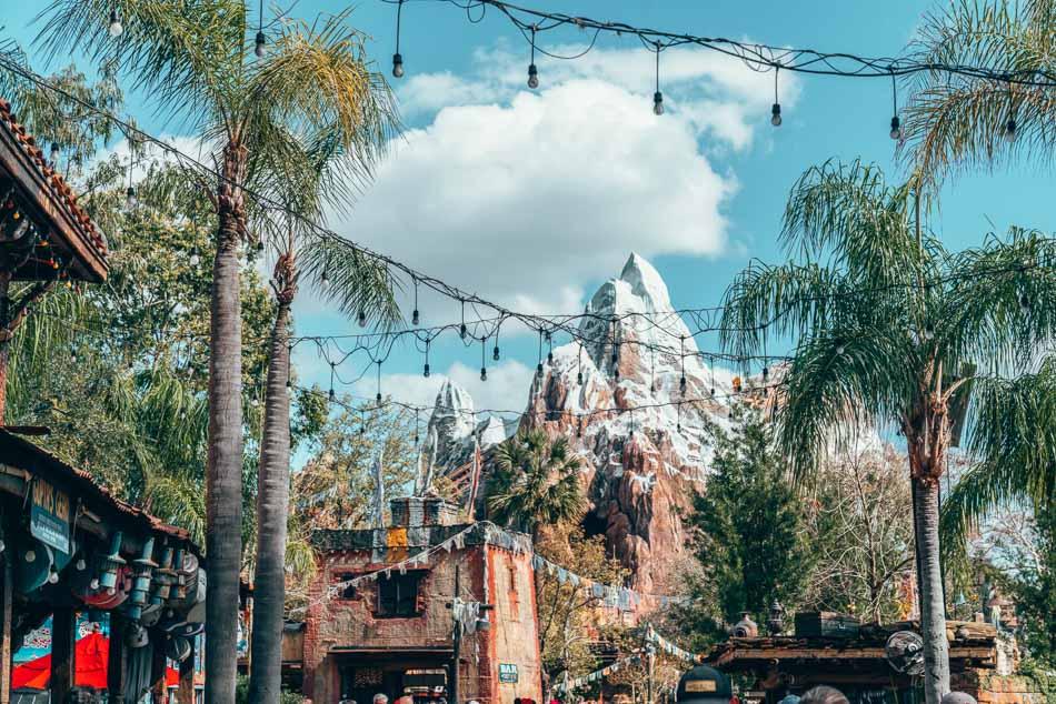 Everest Ride in Animal Kingdom, Walt Disney Resort, Orlando, Florida.