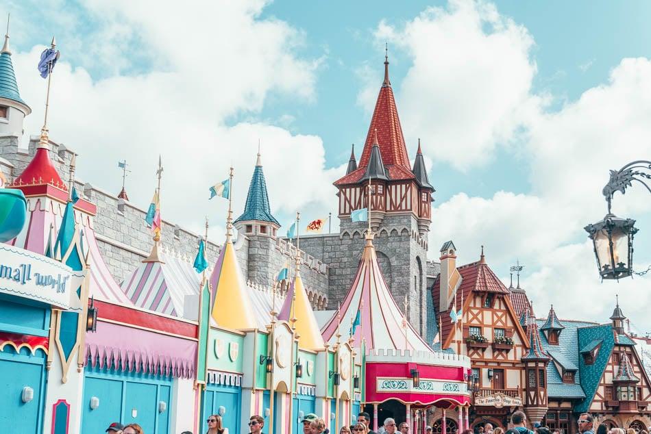 Fantasyland at Magic Kingdom, Walt Disney World Resort Orlando Florida.