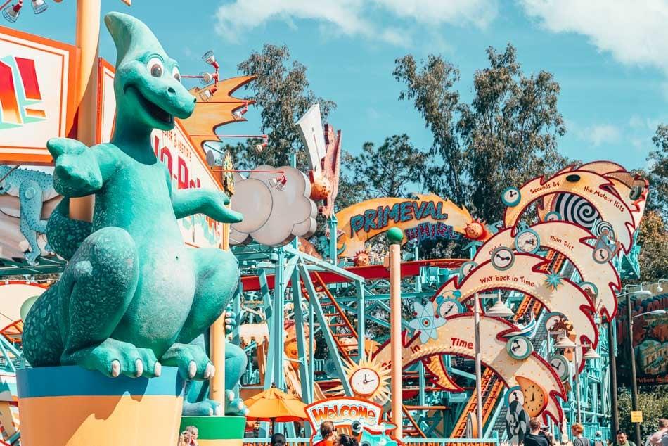Primeval Whirl at Disney's Animal Kingdom, Walt Disney World Resort, Florida.
