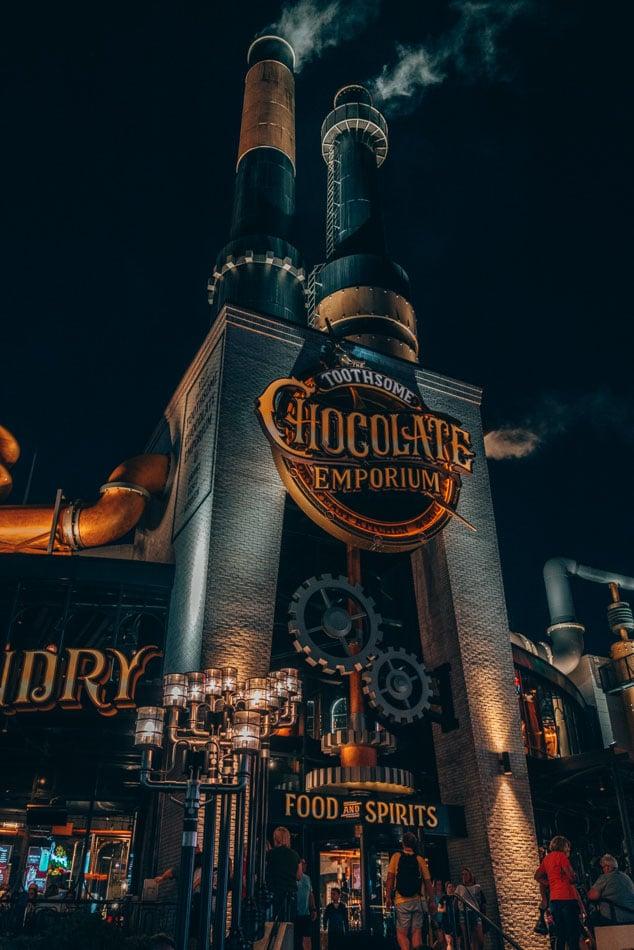 Toothsome Chocolate Emporium at Universal Studios Orlando