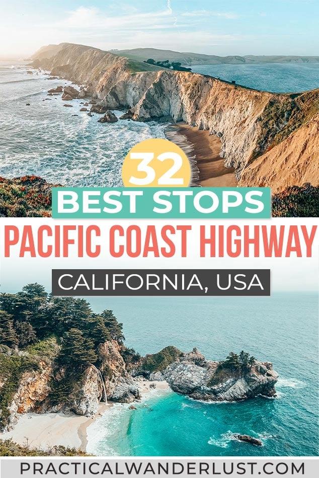 Best Pacific Coast Highway Stops California Coast Road Trip
