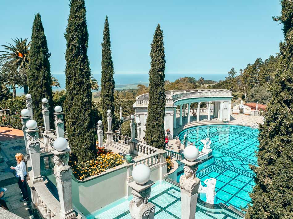 Hearst Castle in San Simeon on a California Highway One Road Trip