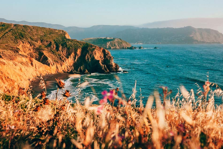 Mori Point in Pacifica, California
