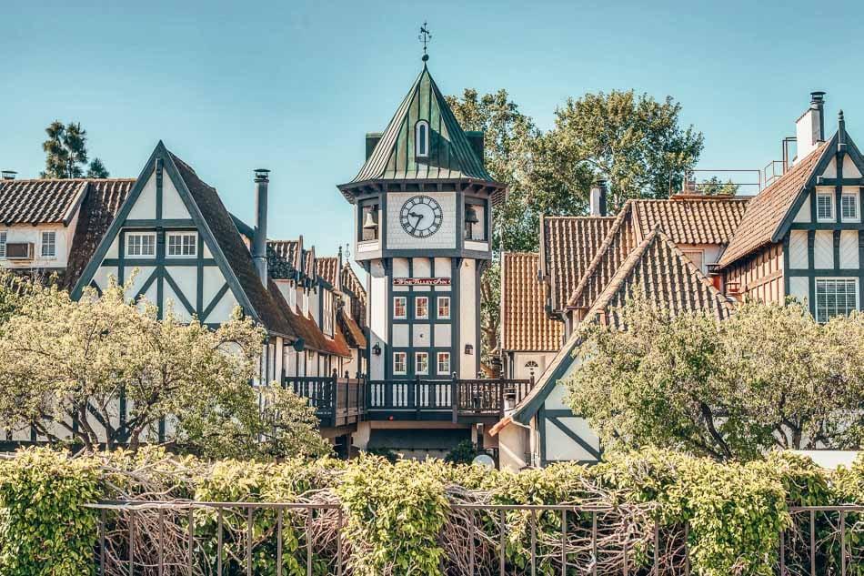 Solvang, California's Danish town on Highway One