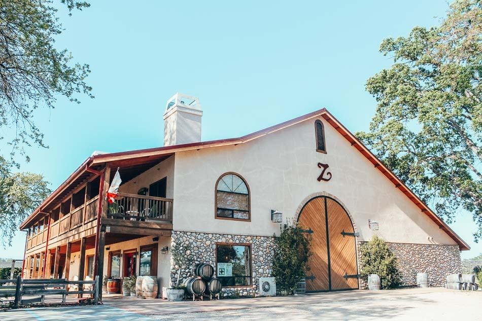 Zenaida Winery in Paso Robles, California.