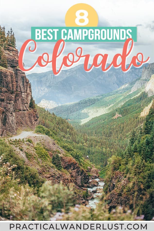 Best places to go camping in Colorado! Camp in the Colorado mountains, on alpine lakes, near Aspen and Denver and Fort Collins, and more - plus all the camping essentials you need for Colorado camping.