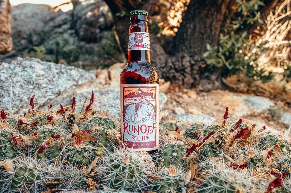 Bottle of Odell beer in Fort Collins, Colorado.
