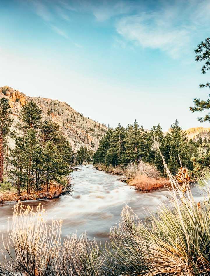 Poudre River Canyon near Fort Collins, Colorado