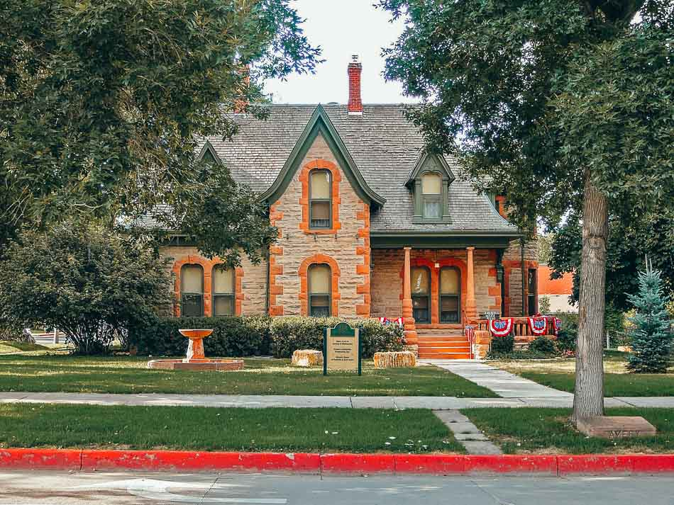 The Avery House is one of the most haunted places to visit in Fort Collins.