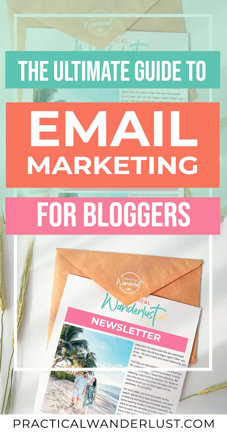 Email marketing for blogs: the ultimate guide to growing your email lists with opt-ins and email newsletters for bloggers.