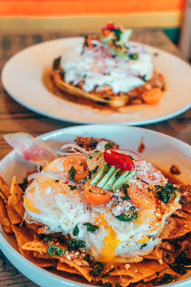 Chilaquiles at Ghost Ranch in Tempe Arizona