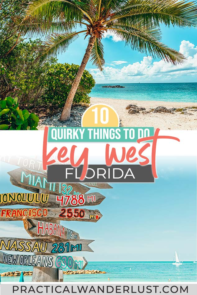 Travel guide to Key West Florida! Things to do in Key West, from drag shows to ghosts to snorkeling to Key Lime Pie. Key West Florida is one of the best quirky USA travel destinations!