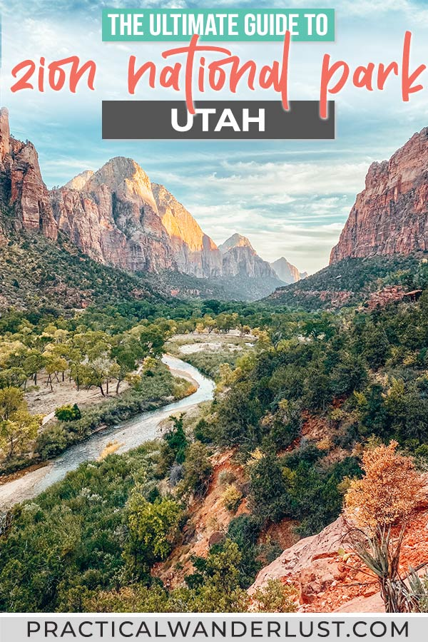Zion National Park: things to do and everything you need to know to plan your Zion National Park trip!