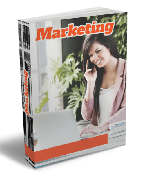 """""""Marketing,"""" a clearly legit book on the internet."""