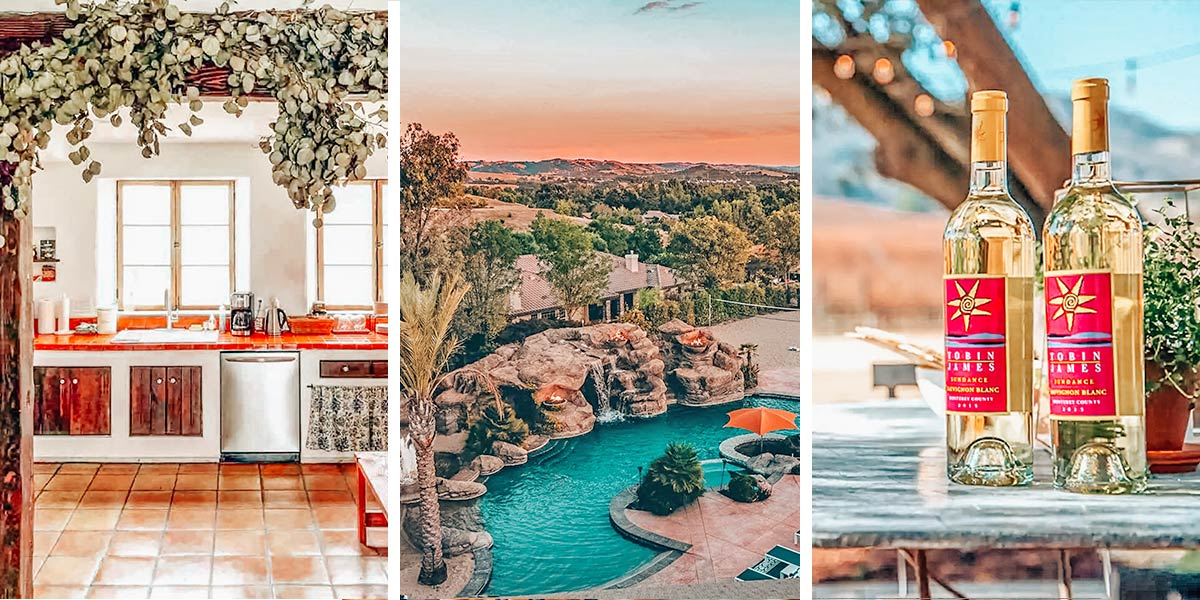 Wondering where to stay in Paso Robles? Here's a roundup of the best Airbnbs in Paso Robles, from vineyard bungalows and olive farm ranch houses to Mermaid mansions.