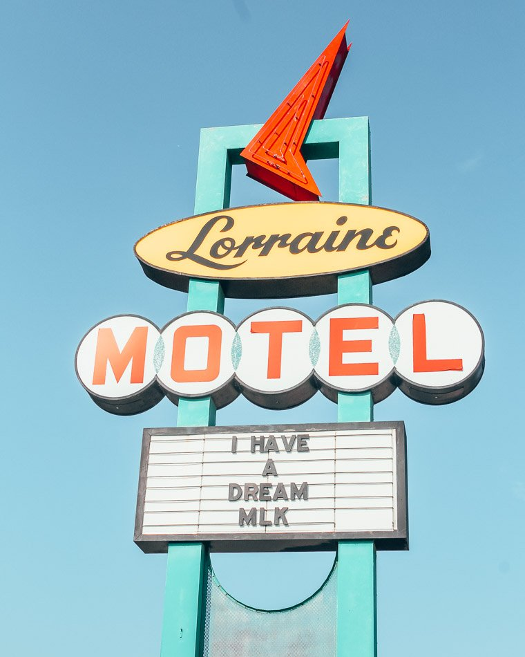 The Lorraine Motel in Memphis, Tennessee is the site where Martin Luther King, Jr. was fatally shot. Today, it's home to the National Civil Rights Museum, one of the BEST museums we have EVER visited.
