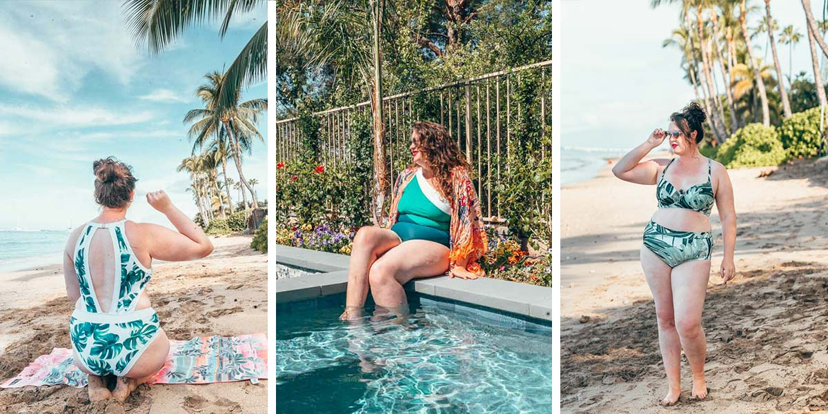The best swimsuits for curves: tried and tested curvy girl swimsuits and bikinis for thick girls!