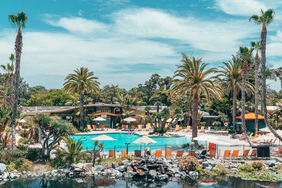 Paradise Point Hotel in San Diego California